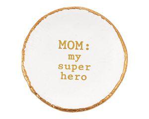 Mud Pie Super Hero Mom Dish