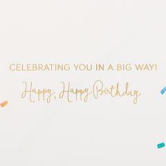 Elephant Birthday Greeting Card