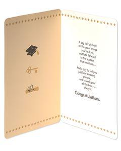 Jumbo All the Best Graduation Card