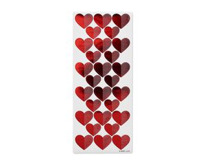 Red Heart Stickers, 84-Count