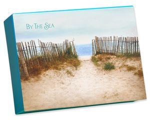 By the Sea Keepsake Boxed Blank Cards and Envelopes, 20-Count