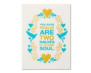 Same Soul Anniversary Card