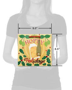 Christmas Hoppy Holidays Beverage Gift Bag
