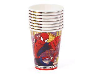 spider-man 9 oz. paper cups 8 ct