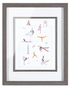 Yoga Girls Frameable Art Print, 8 in. x 10 in.