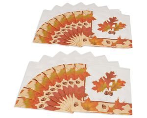 Autumn Days Lunch Napkins, 16 Count