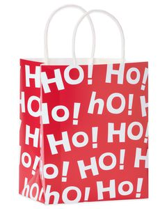 ho! ho! ho! small christmas gift bag