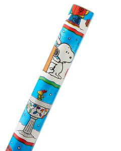 Peanuts Christmas Wrapping Paper, 40 Total Sq. Ft.