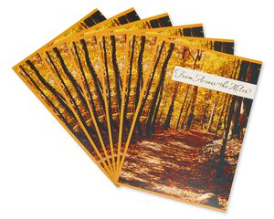 Across the Miles Thanksgiving Card, 6-Count