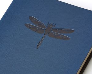 Eccolo Blue Dragonfly Essential Journal