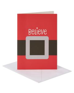 Santa's Belt Christmas Boxed Cards, 14 Count