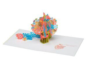 Bouquet Pop-Up Birthday Card