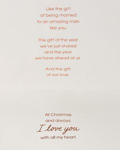 Gifts Christmas Card for Husband