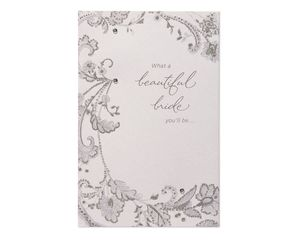 Beautiful Bride-to-Be Wedding Card
