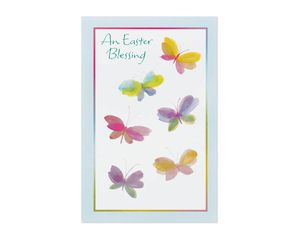 Religious Blessing Easter Card, 6-Count