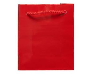 mini red gift bag