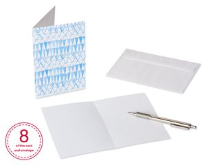 Blanks Greeting Card Bundle with White Envelopes, 48-Count