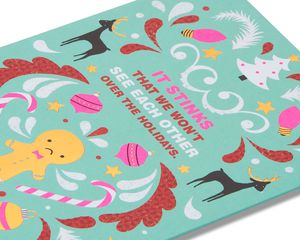 Festive-y Holiday Card