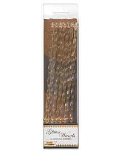 Party Partners Glitter Wand Stirrers, 12-Count