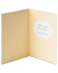 argyle thinking of you card