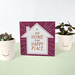 Happy Place Father's Day Card for Husband