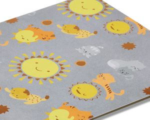 Kittens and Sunshine Birthday Card