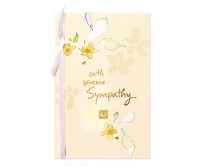 Sincere Sympathy Card