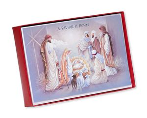 Nativity Scene Christmas Boxed Cards, 14 Count