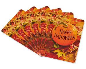 Pumpkin Halloween Card, 6-Count