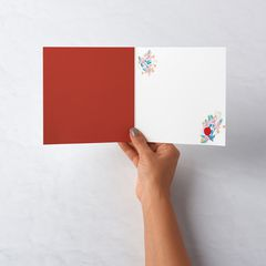 Floral Valentine's Day Card