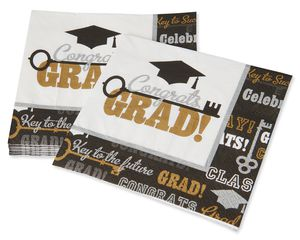 Graduation Lunch Napkins, 16-Count