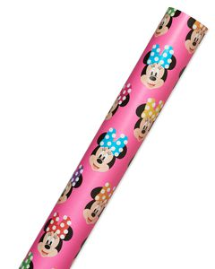 Minnie Mouse Wrapping Paper, 22.5 Total Sq. Ft.