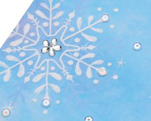 Snowflake Christmas Greeting Card