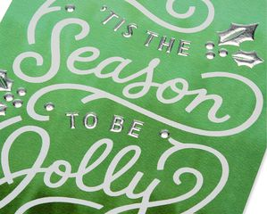 Jolly Happy Holidays Card