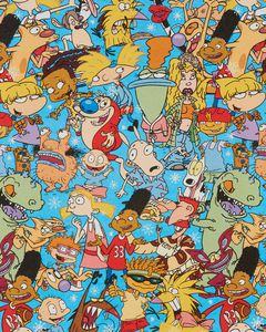 Nickelodeon Christmas Wrapping Paper, 40 Total Sq. Ft.