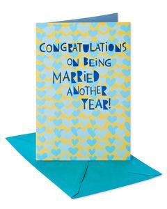 Congratulations Anniversary Card for Couple