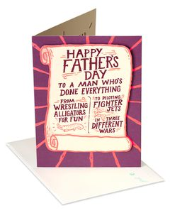 Legendary Father's Day Card