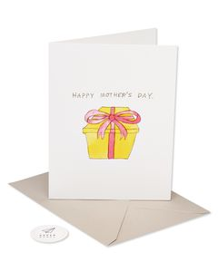 gift in my pants romantic mother's day card