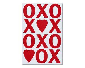 xo valentine's day card