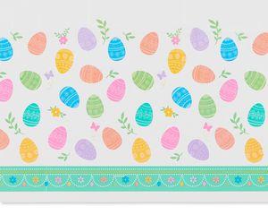 Lovely Easter Plastic Table Cover, 54