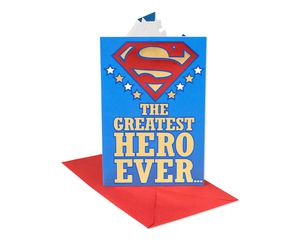 Superman Hero Father's Day Card