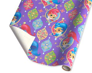 Christmas Wrapping Paper, Shimmer and Shine 60 Sq. Ft. Total