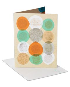 geometric pattern blank card