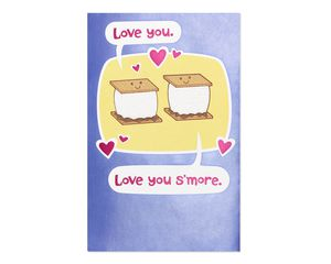 S'mores Anniversary Card for Wife