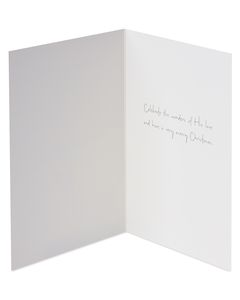 Emily Matthews Christmas Outdoor Girl Pulling Sled Boxed Cards and White Envelopes, 12-Count