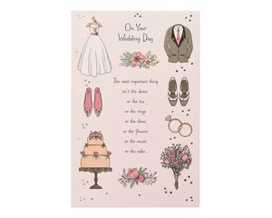 Important Thing Wedding Card