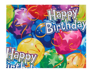 Happy Birthday Celebration Wrapping Paper Sheet