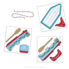 The Elf on the Shelf® Orna-Moments, Holiday Rowboat