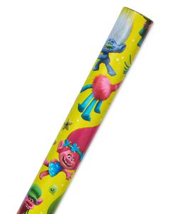 Trolls Wrapping Paper, 20 sq. ft.