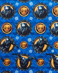 Christmas Wrapping Paper, Black Panther, 60 Sq. Ft. Total